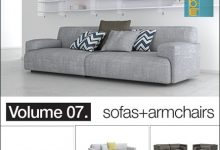 Photo of Download Vol.07 sofas + armchairs from model + model