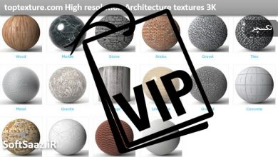 Photo of 3K texture set from toptexture