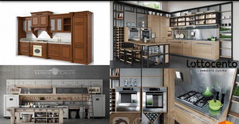 Kitchen Poliform Varenna Twelve Vray Corona 3dsky - Kitchen