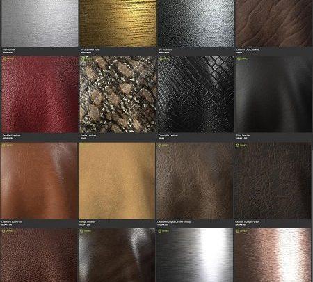Allegorithmic – Substance Source – Brushed Metal & Leather - uparchvip