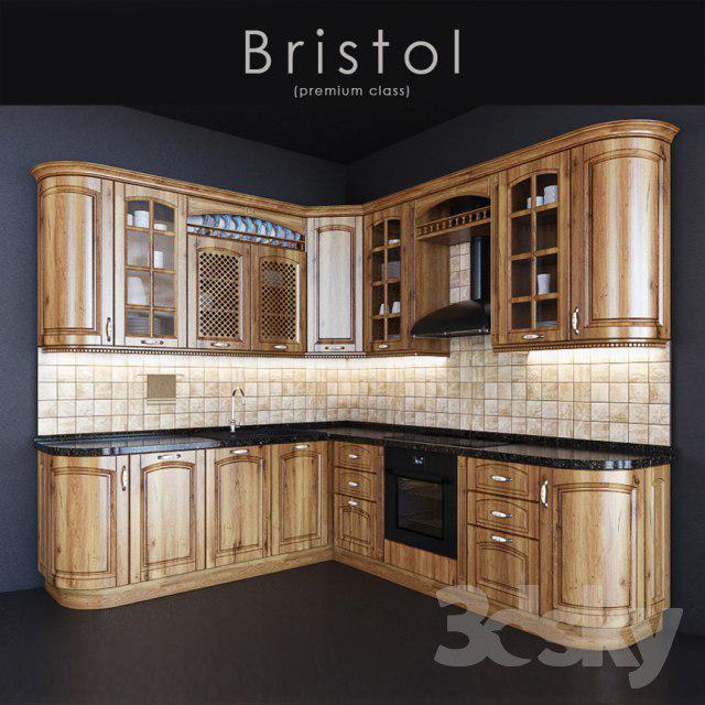 3d Kitchen Cabinets: 3D Kitchen Classics Cabinets Model 3