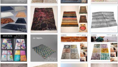 Photo of PRO 3D models bundle – carpet vol 1