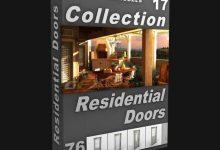Photo of DIGITALXMODELS – VOLUME 17: RESIDENTIAL DOORS