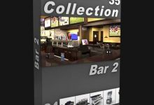 Photo of DIGITALXMODELS – 3D MODEL COLLECTION – VOLUME 35: BAR 2