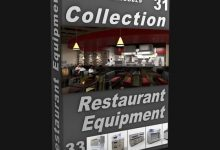 Photo of DIGITALXMODELS – 3D MODEL COLLECTION – VOLUME 31: RESTAURANT EQUIPMENT