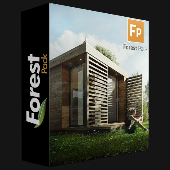 Forest Pack Pro 6.1.2 for 3ds Max 2013-2019 Win X64 Only