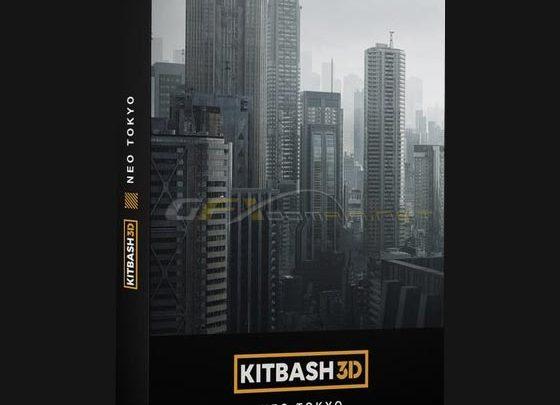 KITBASH3D – NEO TOKYO - uparchvip