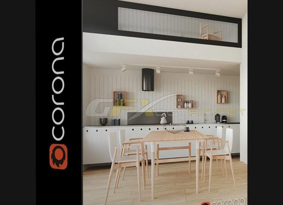 Corona Renderer 2 0 for 3ds Max 2013-2019 + Material Library