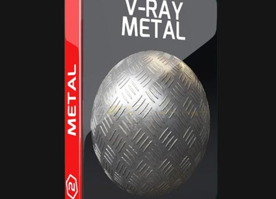 MOTION SQUARED – V-RAY METAL TEXTURE PACK FOR CINEMA 4D - uparchvip