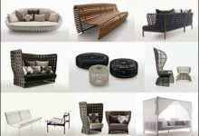 Photo of B & B Italia 3D model of Outdoor Furniture