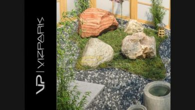 Photo of VIZPARK REAL BOULDERS 3DS MAX