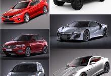 Photo of Car 3D Model Bundle Mar 2019