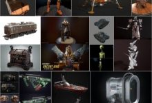 Photo of PBR Game 3D-Models Bundle March 2019