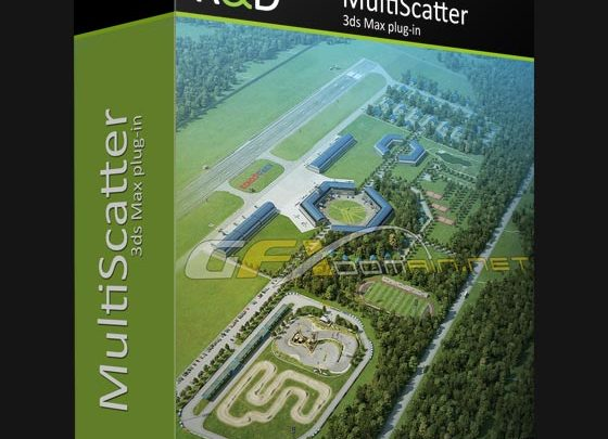 MULTISCATTER V1 091 FOR 3DS MAX 2014 TO 2020 WIN - uparchvip