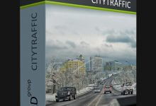 Photo of Download the CityTraffic v2.033 plugin for 3ds Max 2014 to 2020
