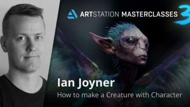 Photo of ArtStation Masterclasses 3 – 04 – How to Make a Creature with Character