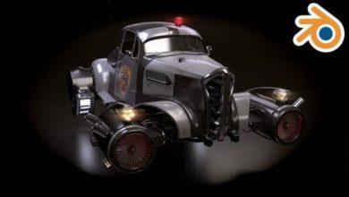 Photo of Udemy – Creating a Retro Futuristic Car in Blender 2.78