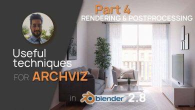 Photo of Skillshare – Archviz in Blender 2.80 / Class 4: Rendering and Postprocessing