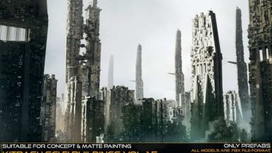 Photo of ArtStation Marketplace – Kitbash Sci-fi Buildings Vol.1.5