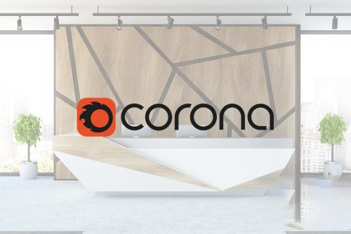 corona renderer material library