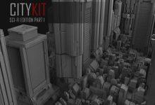 Photo of ArtStation Marketplace – CityKit: Sci-Fi Edition Part 1