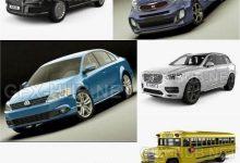 Photo of Car 3D Models Bundle December 2019