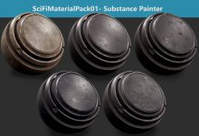 Photo of ARTSTATION – SciFiMaterialPack01 – Substance Painter
