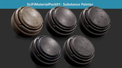 Photo of ARTSTATION – SciFiMaterialPack01 – Substance Painter