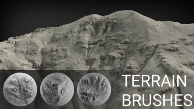 Photo of Gumroad – Terrain Brush Pack for Zbrush – 100 Brushes