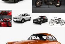 Photo of Car 3D Model Bundle Jan 2020