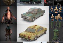 Photo of PBR Game 3D-Models Bundle April 2020