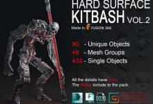 Photo of ArtStation Marketplace – Hard Surface KitBash Vol 2