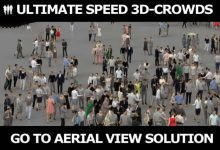 Photo of CGTrader – 3D PEOPLE CROWDS – ULTIMATE SPEED SOLUTION Low-poly 3D models