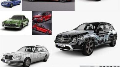 Photo of Car 3D Models Bundle May 2020
