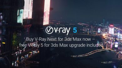 Photo of V-Ray Next v5.00.03 for 3ds Max 2016 to 2021 Win x64