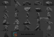 Photo of ArtStation Marketplace – Rock Collection Vol 2 – Jungle Rocks