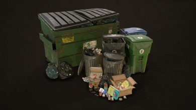 Photo of FlippedNormals – Urban Trash Pack Vol 3 – Low Poly