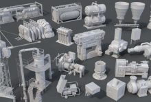 Photo of ArtStation Marketplace – Factory Units 8 – 20 pieces