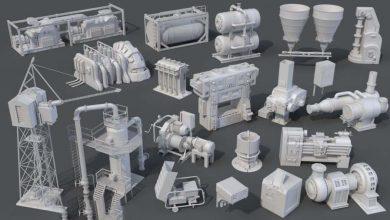 Photo of ArtStation Marketplace – Factory Units 8 – 20 pieces