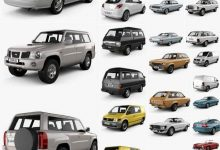 Photo of Car 3D Models Bundle August 2020