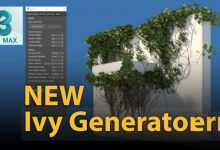 Photo of Gtools Ivy Generator v0.75 for 3ds Max 2018-2021 Win