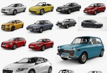 Photo of Car 3D Models Bundle October 2020
