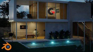 Photo of Udemy – Create & Design a Modern 3D House in Blender 2.80
