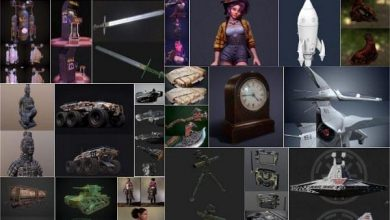 Photo of PBR Game and 3D-Scan 3D-Models Bundle October 2020