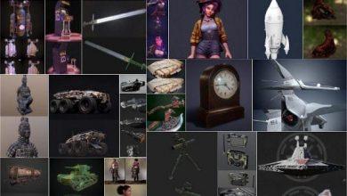Photo of PBR Game and 3D-Scan 3D-Models Bundle October 2020