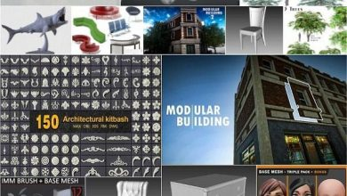 Photo of Cuberbrush 3D Models Collection October 2020