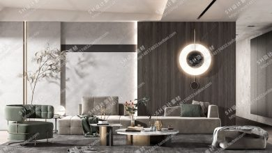 Photo of The Collection Of LIVING ROOM SCENES VRAY VOL 1 (2020)
